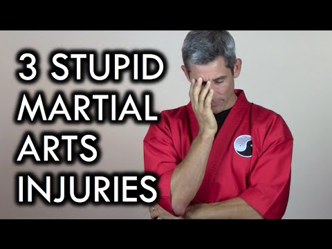 3 Stupid Martial Arts Injuries You Can Avoid