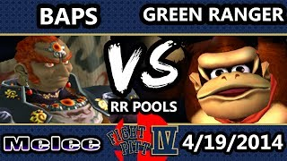 BAPS vs Green Ranger at FP4 (Criticize my Ganon and Falcon in comments)