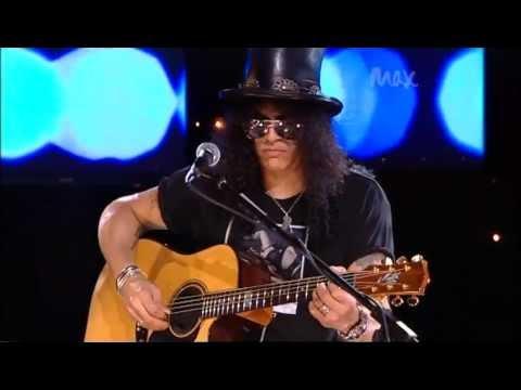 Civil War - Slash & Myles Kennedy - Rare Acoustic - MAX Sessions 2010 - Best Quality 480p (видео)