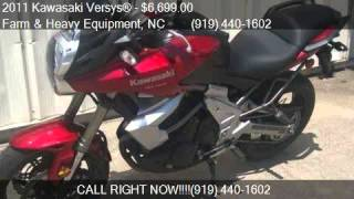 9. 2011 Kawasaki Versys®  for sale in Farm and Heavy Equipment,