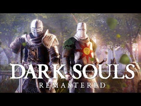 DARK SOULS REMASTERED - O Início de Gameplay, em Português PT BR!
