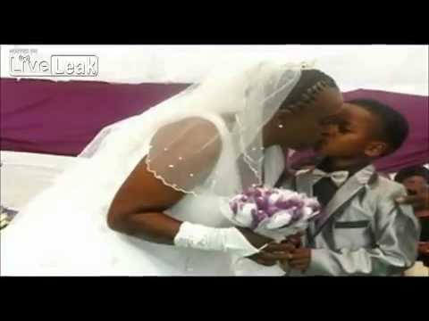 8 year old marries 61 year old woman
