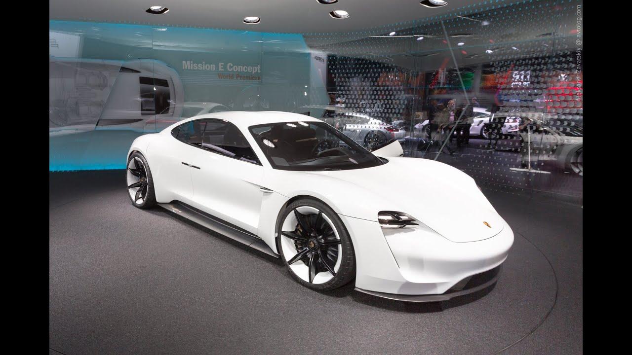 2015 Porsche Mission E Concept: Франкфурт 2015