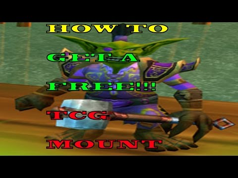 How to get a FREE TCG mount in World of Warcraft! (видео)