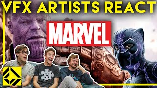 Video VFX Artists React to MARVEL Bad & Great CGi MP3, 3GP, MP4, WEBM, AVI, FLV September 2019