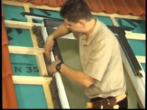 Okna dachowe-montaż okna PTP-V