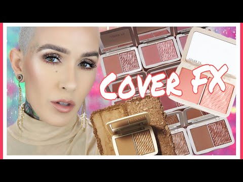 COVER FX Monochromatic Blush and Bronzer Duos Overview & Demo