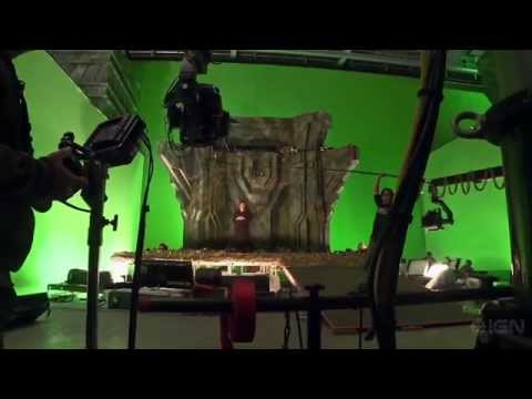 scenes - Behind the scenes on the Smaug's Cave set, to celebrate the release of The Hobbit: Desolation of Smaug Extended Edition.