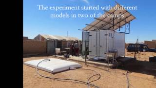 Hydroponics in the Western Sahara refugee camps