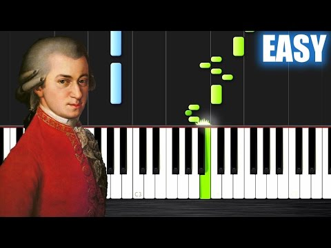Mozart - Turkish March - EASY Piano Tutorial by PlutaX