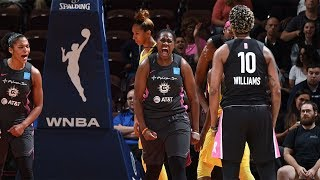 Sun Rally Late In The Fourth To Defeat Storm by WNBA