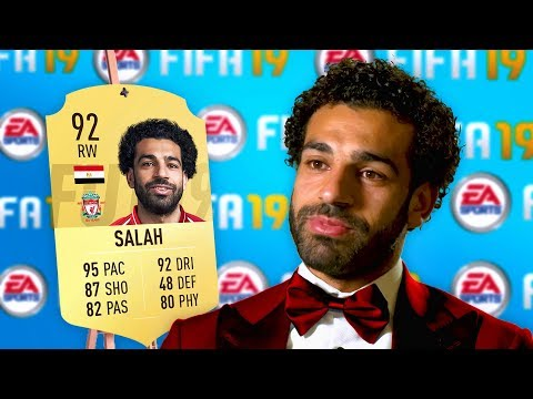 10 Footballers ANGRY at their *NEW* FIFA 19 Ratings! (Ronaldo, Salah & Messi)