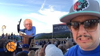 Cloverdale (CA) United States  City new picture : BERNiE SANDERS RALLY iN HOT CLOVERDALE CA!!!