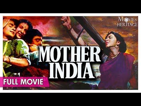 Mother India 1957 Full Movie   Nargis , Sunil Dutt   Superhit Hindi Classic Movies   Movies Heritage