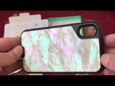 Mous case for Iphone X Shell back (видео)