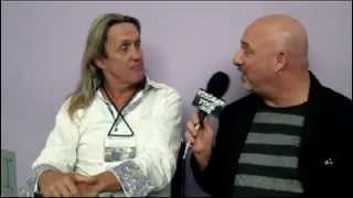 http://www.vintagerock.com - Nicko McBrain of Iron Maiden chats with Vintage Rock's Junkman at the 2013 NAMM Show. January ...
