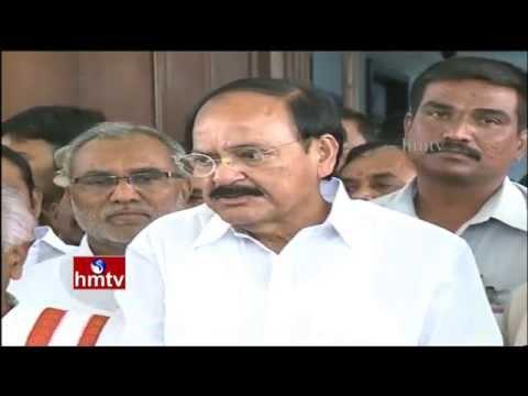 Union Minister Venkaiah Naidu speaks over SI Siddaiah Health : Nalgonda Encounter | HMTV