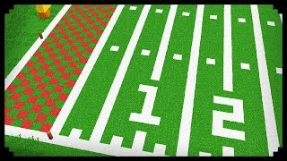 • Minecraft: How to make a Football Field