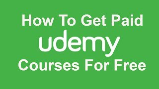 learn How to get Paid udemy courses for free. udemy is a biggest platform for online courses. you can find courses about anything. but most of those courses are not free. you have to pay for the courses you wanna take. but in this video i will show you how to get paid udemy courses from free.to get udemy courses for free you will need to visit this website http://udemycoupon.discountsglobal.combasically, this website offers tons of paid udemy courses for free.