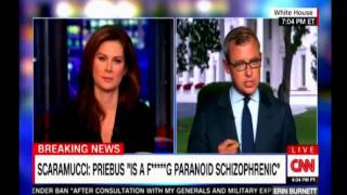 Scaramucci calls Reince Priebus is a f******g paronoid schizopherenic CNN Panel discussion
