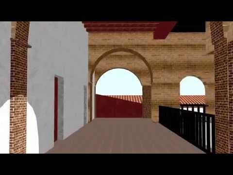 Avances de la remodelacion del Exconvento de Santo Domingo, Chiapa de Corzo