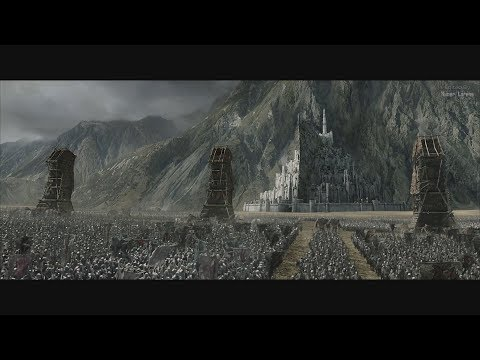 The Lord of the Rings (2003) -  Battle for Minas Tirith Beggins - Part 1 [4K]