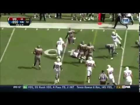 Karl Joseph Highlights vs Maryland 2012 video.