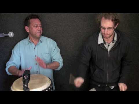 Percussion Lesson – soloing (Ray Pereira – djembe) Learn to play. Drumming technique. Melbourne