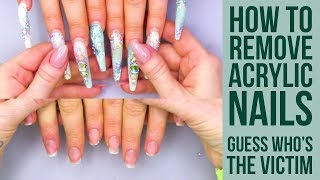 Video WORST CLIENT EVER IS BACK!!  How To Remove Super Long Nails MP3, 3GP, MP4, WEBM, AVI, FLV Agustus 2019