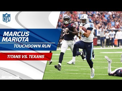 Video: Marcus Mariota Shows Off His Wheels on Crucial TD Drive! | Titans vs. Texans | NFL Wk 4 Highlights
