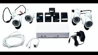 Видео. Комплект видеонаблюдения HD. Видеонаблюдение без проводов.