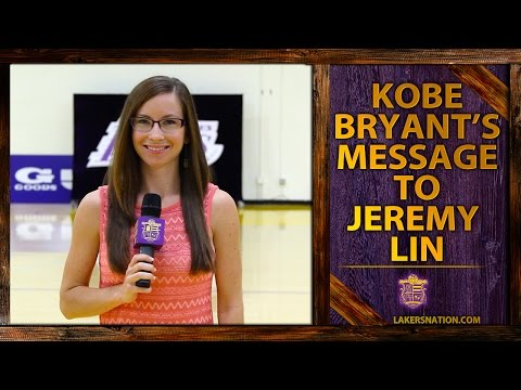 lakers - At Jeremy Lin's Lakers introductory press conference, Lin says he;s exchanged text messages with Kobe Bryant, who told him that they have a lot of work to do. Join the Largest Lakers Fan...