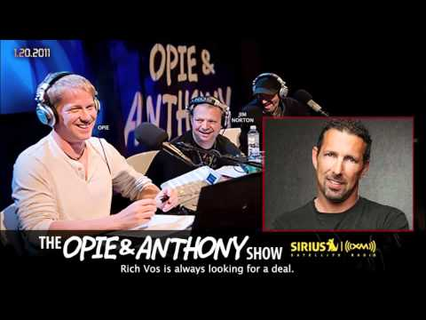 Comedian Rich Vos Files - The Frugalist on Opie and Anthony(2011)