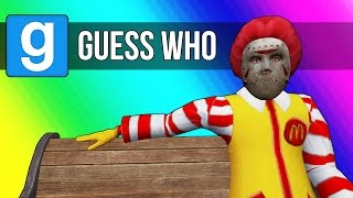 Gmod Guess Who - Mcdonald's Edition! (Garry's Mod Funny Moments) by Vanoss Gaming