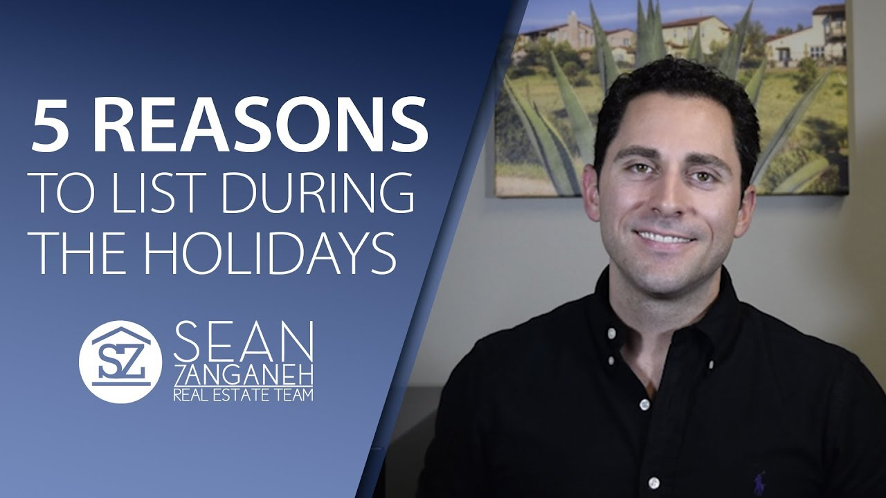 5 Reasons Why the Holiday Season Is a Great Time to Sell Your Home