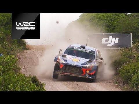 WRC - Rally Italia Sardegna 2018: Best of Action