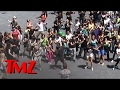 Download Lagu Carlton Dance' Flash Mob!!! -- Alfonso Ribeiro LEADS | TMZ Mp3 Free