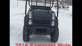 7. Kawasaki Mule 610 XC - Up Cose Look