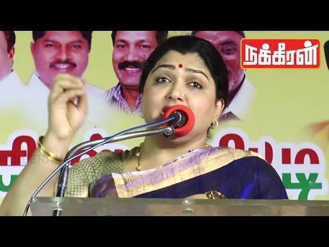 Khushboo-attacks-Jayalalitha-Must-Watch