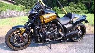 Download Video YAMAHA 09 VMAX1700 prunus FULL POWER CUSTOM MP3 3GP MP4