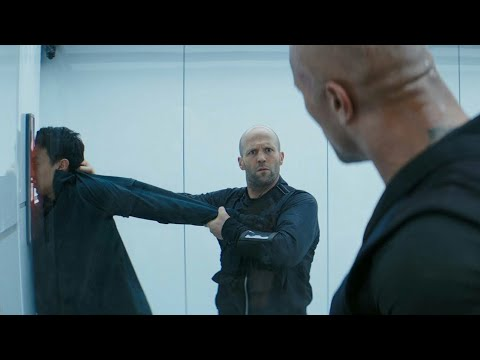 Fast and Furious: Hobbs and Shaw / Access Denied Scene (Retinal Scanner)