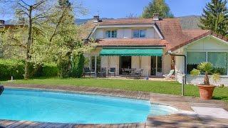 Sevrier France  city pictures gallery : A vendre Sevrier Côté Lac belle villa de qualité 5 chambres, 1200m2 de terrain avec piscine