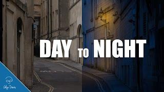 TURNING DAY INTO NIGHT: Photoshop Tutorial #63