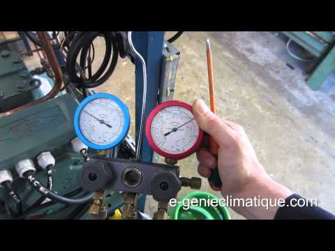 Froid21 montage 3 chambre froide n gative la mise en for Thermostat chambre froide