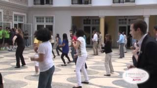 Praia del Rei Portugal  city photos gallery : Flash Mob Hotel Marriott Praia D´El Rey Seleção Portuguesa de Futebol
