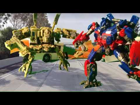 Transformers (2007) Optimus vs Bonecrusher