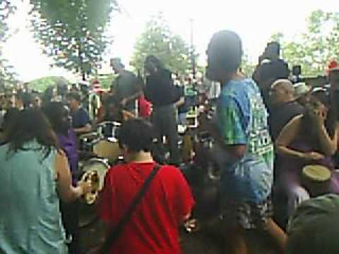 Malcolm X Park Drum Circle and Dancers 6 May 12 5
