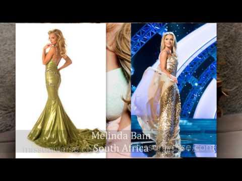 2012 Mock Miss Universe Round 3