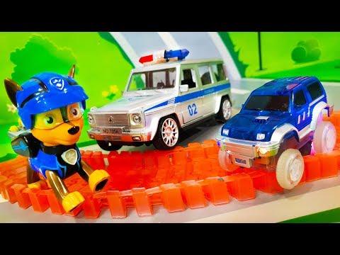 Мультики про машинки все серии. Щенячий патруль и Полицейские машинки - Спасатели. Видео для детей - DomaVideo.Ru