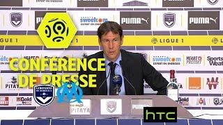 Video Conférence de presse Girondins de Bordeaux - Olympique de Marseille (1-1) - Ligue 1 / 2016-17 MP3, 3GP, MP4, WEBM, AVI, FLV Juni 2017
